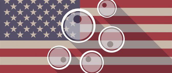 Donor-egg banks across the USA