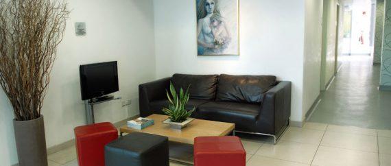 Ledra Clinic Cyprus waiting area