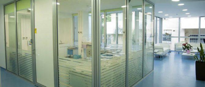 Ledra Clinic facilities and waiting room