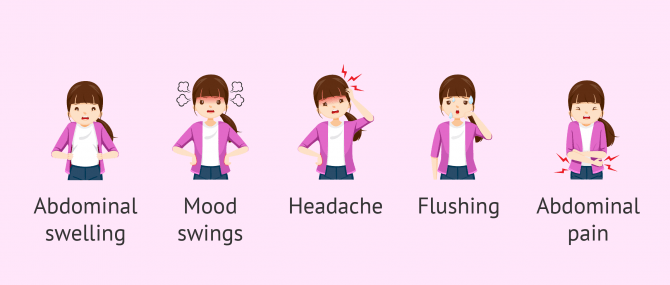 Imagen: Symptoms of menstruation