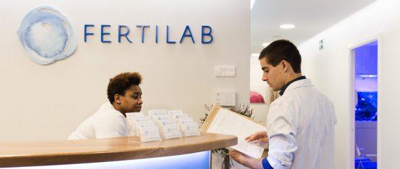 Fertilab reception and team