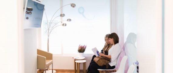 Fertilab waiting room