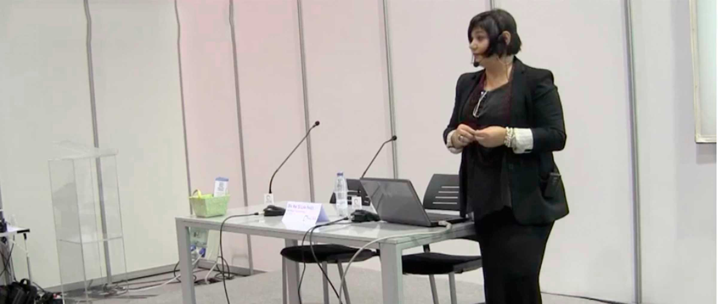 Speech of Dr Ana María Segura Paños