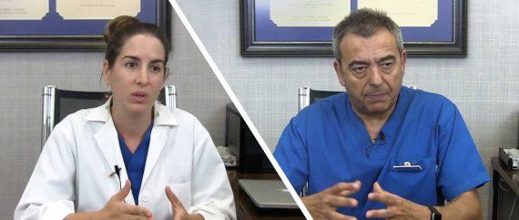 Dr. Gorka Barrenetxea and embryologist Edurne Martínez