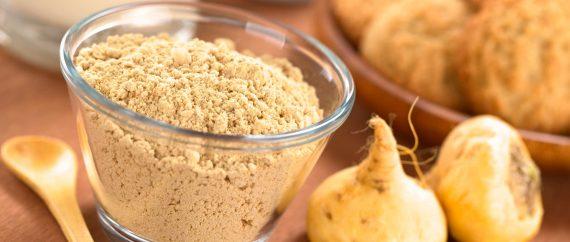 Maca root powder to treat teratozoospermia