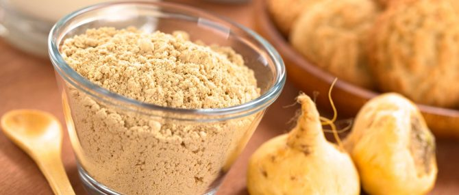 Maca root powder to treat teratozoospermia