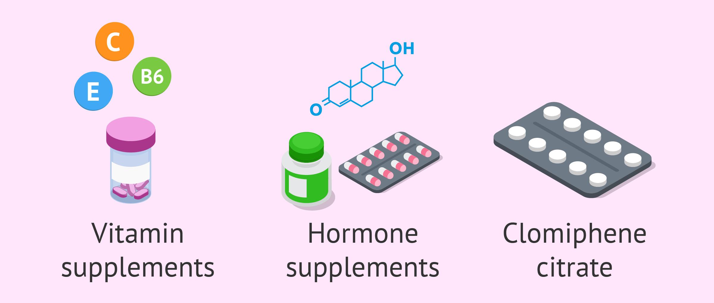 Medicines to treat oligozoospermia