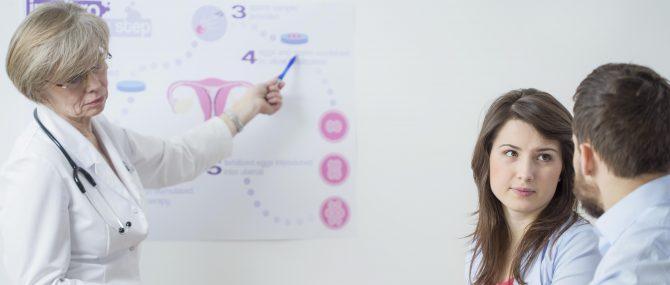 Imagen: Fertility clinic patient care