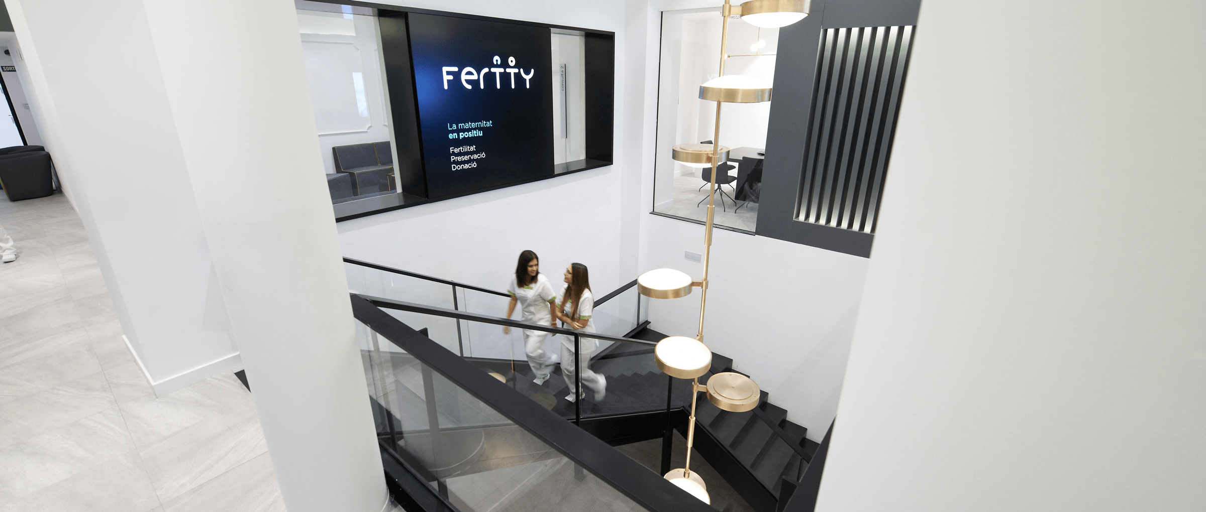 Instalations of Fertty in Barcelona