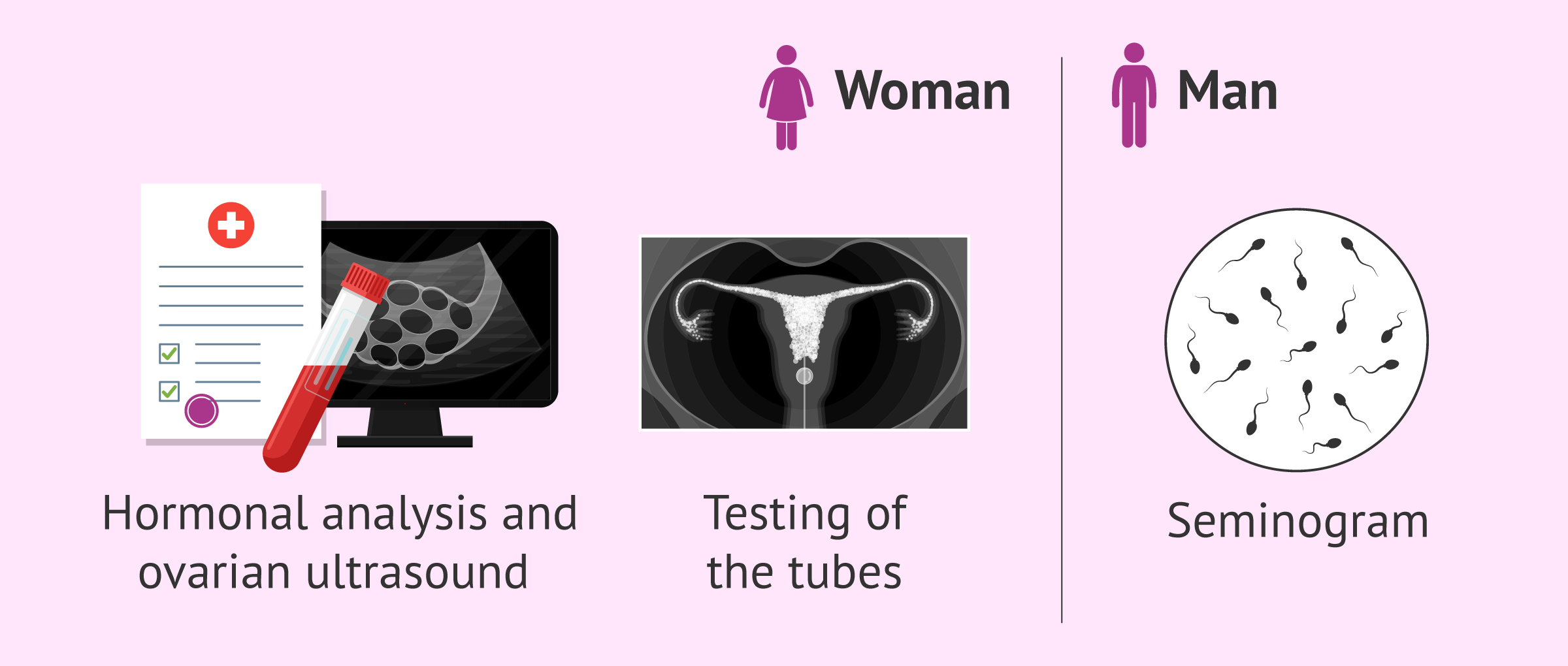 Studies before tubal ligation reversal