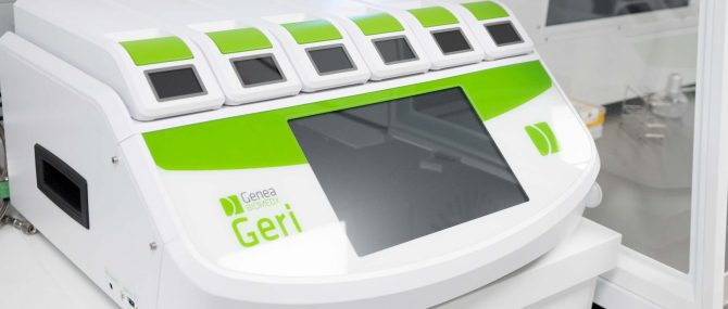Imagen: Geri incubator with Time-Lapse technology
