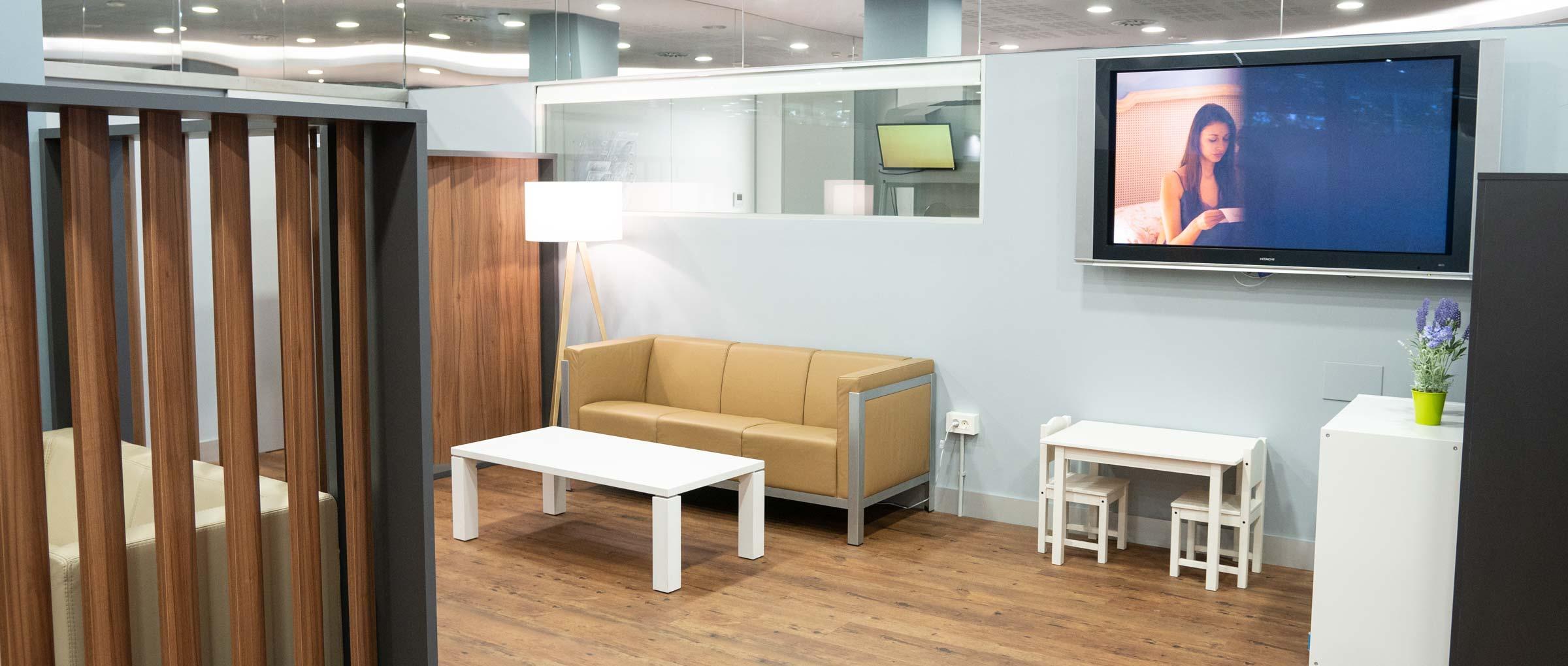 Waiting room for children IVF Donostia