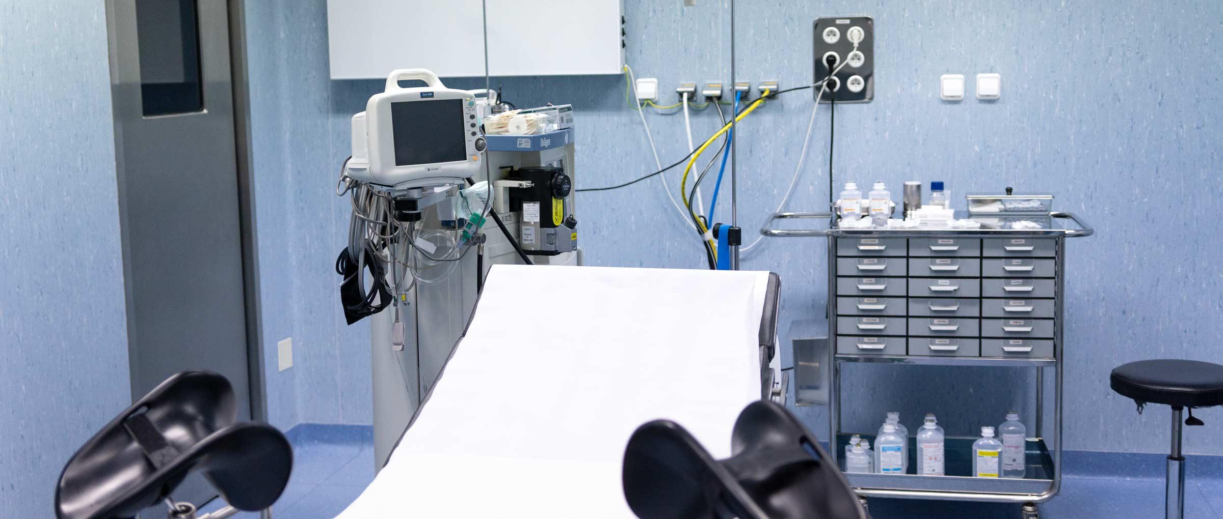 Operating Room of Clínica Tambre