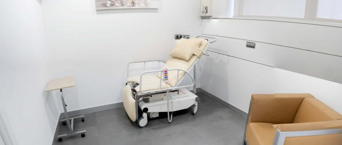 Imagen: Recovery room IVF Donostia