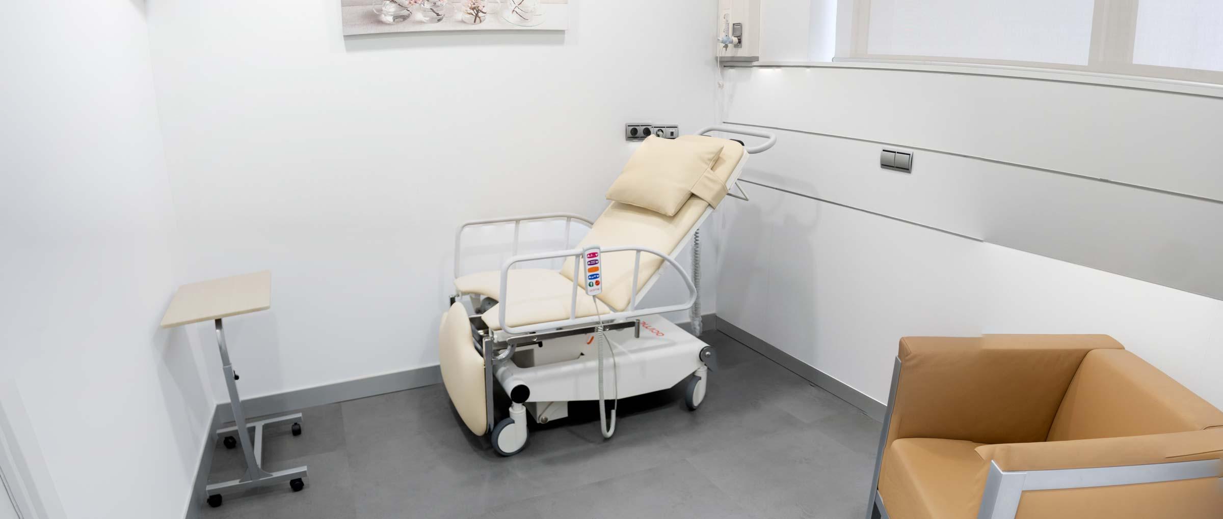 Recovery room IVF Donostia