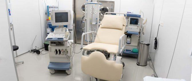 Imagen: Operating room IVF Donostia