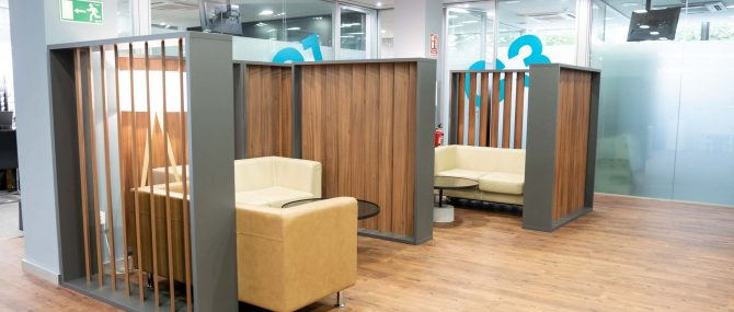 Imagen: Waiting room IVF Donostia