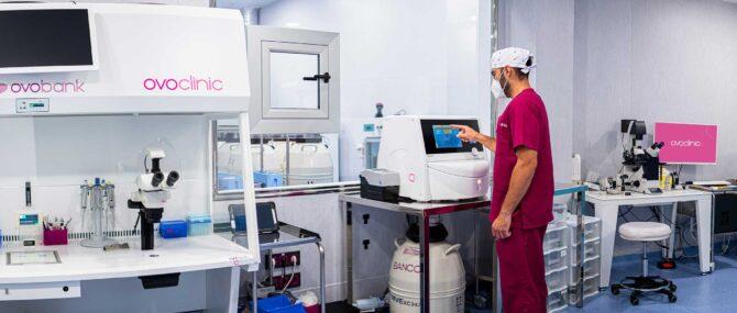 Imagen: Scientific Laboratory of Ovoclinic Marbella