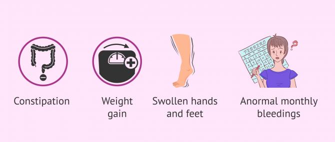 Imagen: Clinical manifestations of hypothyroidism