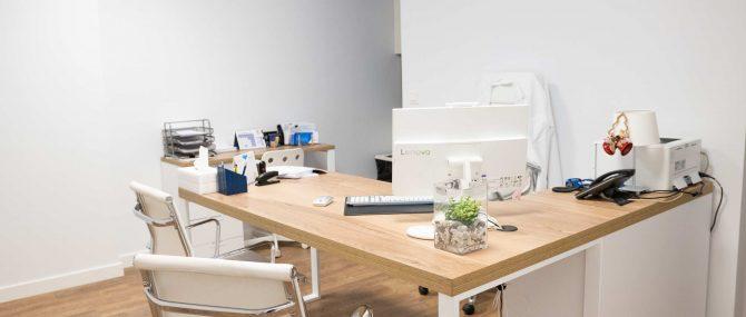 Imagen: Consultation room at Reproducción Bilbao