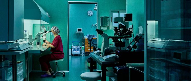 Imagen: Labor and operating room at Love Fertility