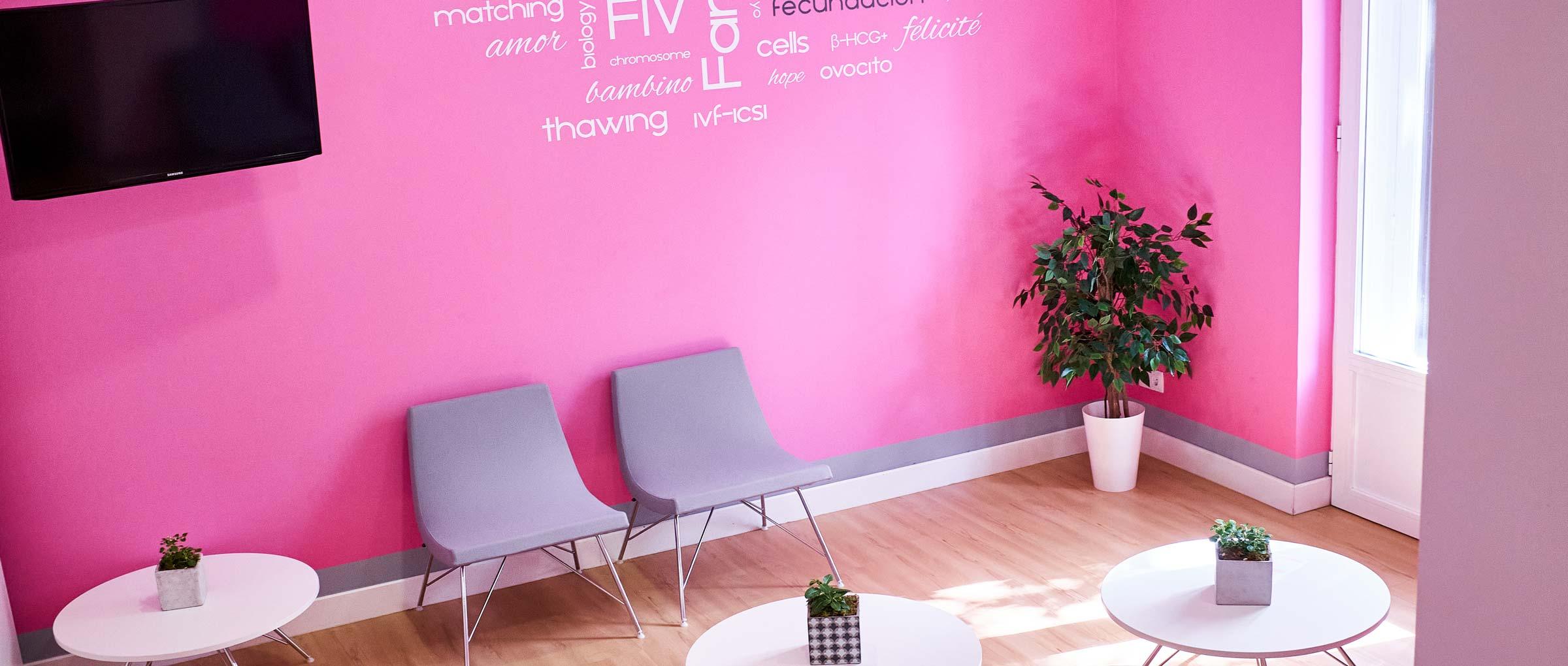 Love Fertility Waiting room